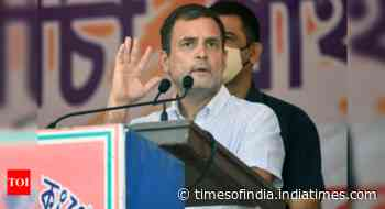 Rahul Gandhi takes a dig at Modi government over fuel prices