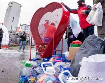 Tapitas para el Garrahan: Inaugurarán dos 'Corazones Gigantes' en Río Grande - Ushuaia 24