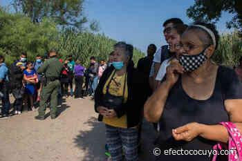 Abuelos migrantes entre los venezolanos que cruzan el Río Grande - Efecto Cocuyo