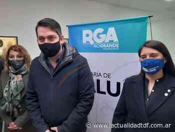 """""""Nuestro objetivo es que Río Grande sea una de las primeras ciudades del país en salir de esta pandemia"""" dijo Pérez - Actualidad TDF"""