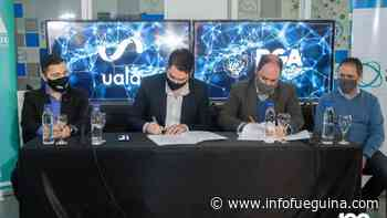 Municipio de Río Grande firmó convenio con la empresa Ualá - Infofueguina