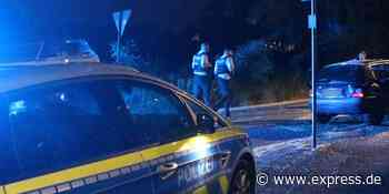 Hand hängt aus Kofferraum in Aachen: Polizei stoppt Auto - Express.de