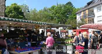Wochenmärkte in Aachen: Wo das Einkaufen zum Genuss wird - Aachener Nachrichten