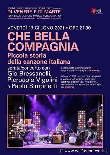 Concerto 18/6 Arci S. Bernardino Crema - WelfareNetwork