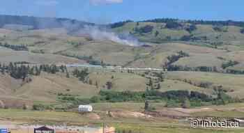 UPDATE: 9 hectare grassfire near Merritt under control   iNFOnews   Thompson-Okanagan's News Source - iNFOnews