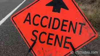 One dead in two-semi collision on Okanagan Connector near Merritt - CFJC Today Kamloops
