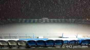 Nieve en Córdoba: así quedó el estadio de Racing de Córdoba - 442