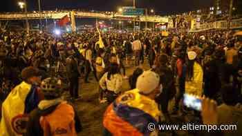 Las Américas cierra una nueva jornada de protestas con disturbios - El Tiempo