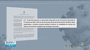 Covid-19: Prefeituras de Itabuna e Ilhéus decidem prorrogar toque de recolher; veja detalhes - G1
