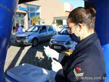 Com5ºDN apoia vacinação contra a Covid-19 em Rio Grande (RS) - Defesa - Agência de Notícias