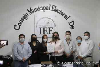 Entregan constancia de mayoría a Margarita Moreno, primera presidenta municipal de Colima - El Comentario