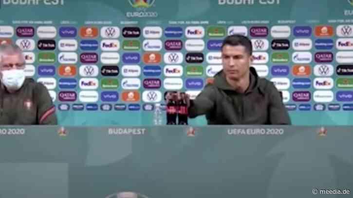 Ronaldo, Coca-Cola und das Medien-Märchen vom Vier-Milliarden Börsenverlust