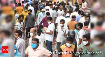 Coronavirus live updates: India's active caseload declines to 7,98,656, falls below 8 lakh after 73 days - Times of India