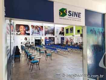 Sine oferece 47 vagas de empregos em Campina Grande • Paraíba Online - Paraíba Online