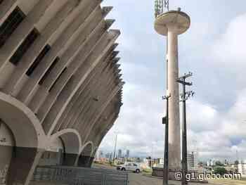 Fios de torre de iluminação do estádio 'O Amigão', em Campina Grande, são furtados - G1