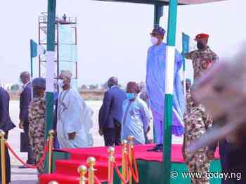 President Buhari vows not to rest until peace is restored