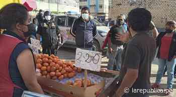 Chiclayo: buscan evitar que mercado Moshoqueque se convierta en foco de contagio - LaRepública.pe