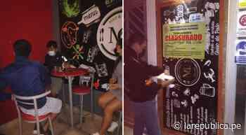 Chiclayo: 30 intervenidos en picantería de La Victoria durante toque de queda - LaRepública.pe