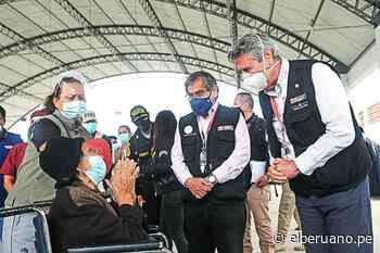 Presidente Sagasti supervisa jornada de vacunación en Chiclayo - El Peruano