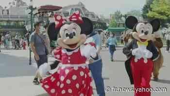 """Réouverture de Disneyland Paris: """"la joie"""" et """"le plaisir d'être là"""" - Yahoo Actualités"""