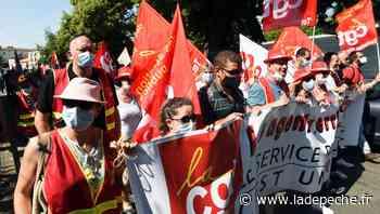 Dans les rues d'Auch pour la fonction publique - ladepeche.fr