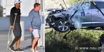 Tiger Woods: Nach Auto-Unfall läuft er an Krücken - Nau.ch
