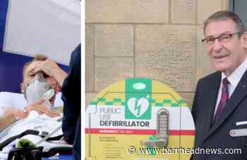 Barrhead: Town defibrillators calls after Eriksen collapse - Barrhead News