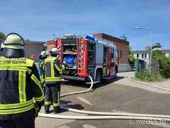 Feuerwehreinsatz: Brand in Klärwerk in Karlsdorf-Neuthard - meinKA | Stadtportal Karlsruhe