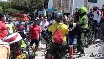 ¡Como de película! Atraco, balazos y dos capturados en Nueva Granada - EL HERALDO