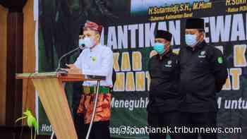 Jabat Ketua Umum LSKM Kalbar, Guntur Perdana Siapkan Program Kerja Strategis LSKM 2021-2026 - Tribun Pontianak