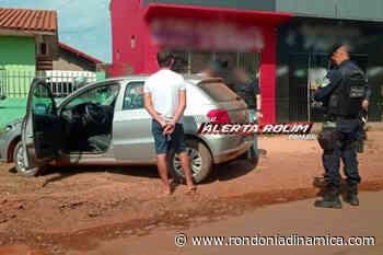 Acusado de estelionato é preso pela PM em Rolim de Moura - Rondônia Dinâmica