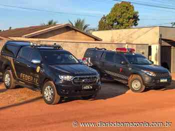PF cumpre mandado contra grupo criminoso em Rolim de Moura - Diário da Amazônia