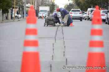 Instalarán un segundo divisor sobre la avenida Cipolletti en Regina - Diario Río Negro