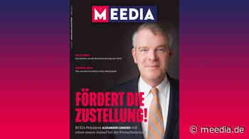 Was Sie in der neuen MEEDIA-Ausgabe erwartet