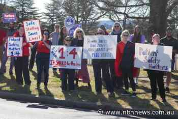 ARMIDALE NURSES AND MIDWIVES RALLY FOR BETTER WORKING CONDITIONS - NBN News