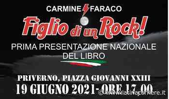 """Priverno, prima Nazionale del libro """"Figlio di un Rock"""" del comico Carmine Faraco - LatinaCorriere"""