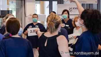 Stellenabbau: Weiterer Streik an der Sana Klinik - Nordbayern.de