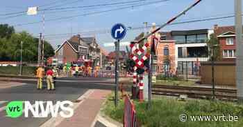 Geen treinverkeer tussen Lichtervelde en Diksmuide door beschadigde bovenleiding - VRT NWS