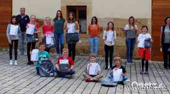 Musikverein Vilseck vergibt Junior-Abzeichen des Nordbayerischen Musikbunds - Onetz.de