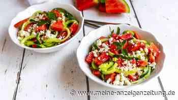 Leichte Küche für den Sommer: Wassermelone-Feta-Salat