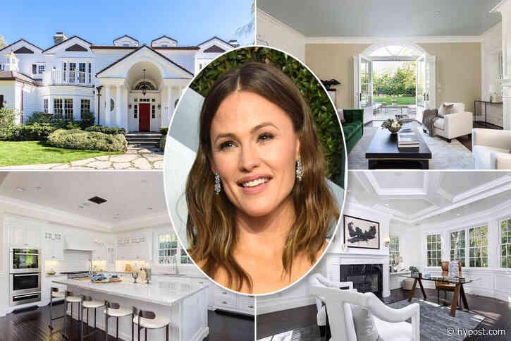 Inside Jennifer Garner's $14M mansion rental ahead of move near Ben Affleck - New York Post