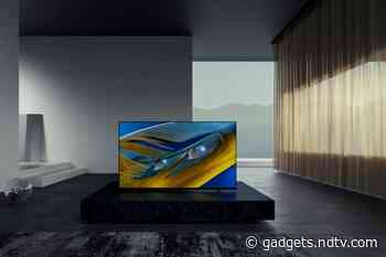 Sony Bravia XR A80J OLED 4K TV With 65-Inch Display, Cognitive Processor XR Launched in India