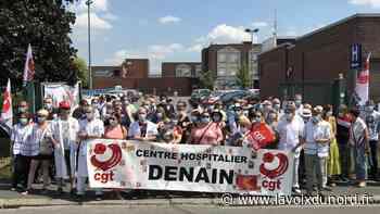 «Ras-le-bol et colère» des agents du centre hospitalier de Denain - La Voix du Nord