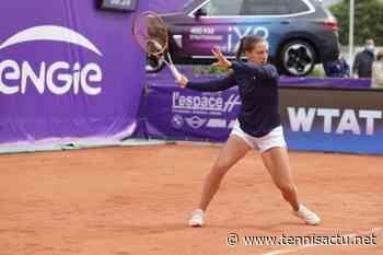 Denain (W25): Diane Parry débute en souplesse dans le Nord - Tennis Actu
