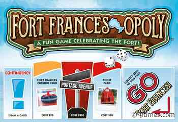 Local Fort Frances-opoly game swaps Park Place for Sorting Gap Marina - Fort Frances Times