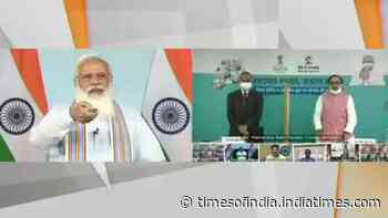 PM Narendra Modi launches 'Customized Crash Course programme for Covid 19 Frontline workers'