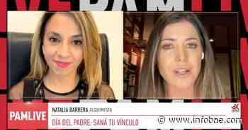 """Pamela David habló con la alquimista Natalia Barrera sobre el vínculo paterno: """"Si no tenés un buen ejemplo de papá, crealo"""" - infobae"""