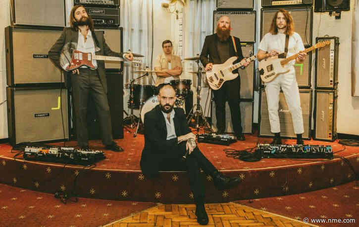 Listen to IDLES' moody new song 'Sodium' from DC's 'Death Metal' soundtrack
