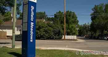 Community celebrates naming of Buffalo Meadows Park, pool in Regina - Global News