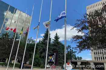City of Regina lowers flags after community concerns - News Talk 980 CJME